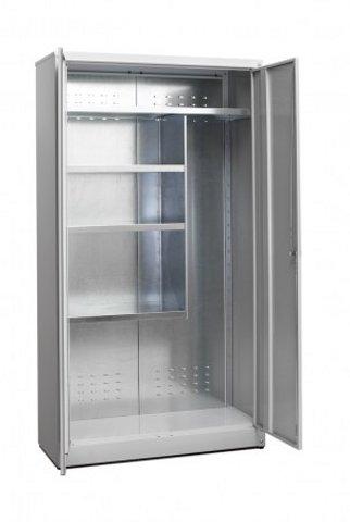 Armadio portascope per esterno zincoplastificato for Armadietti esterno